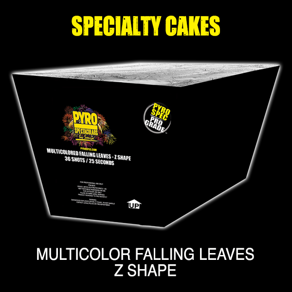 Multicolor Falling Leaves - Z Shape